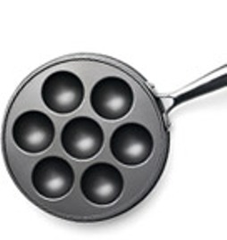 7 hole Non_Stick_Pan