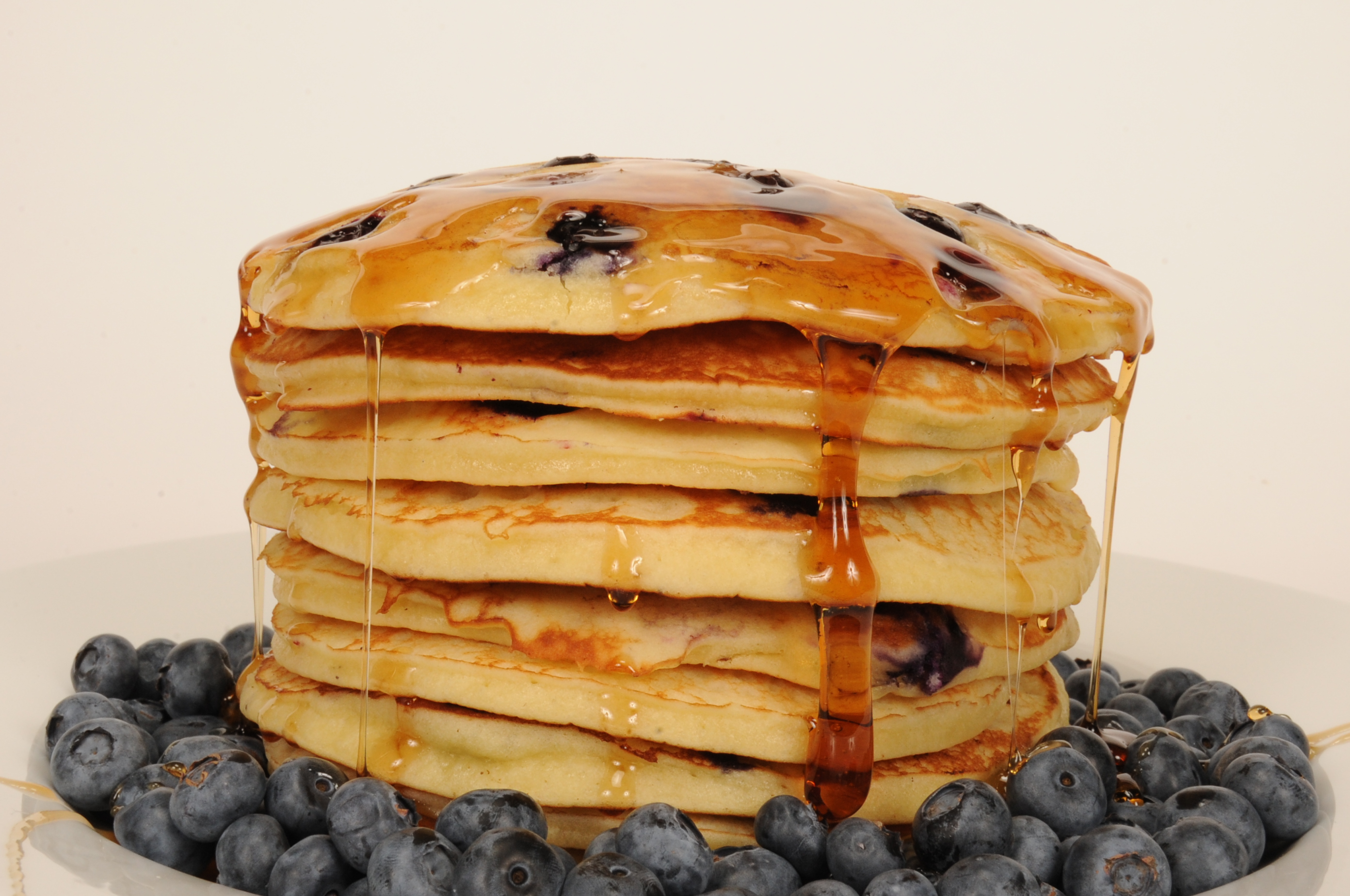 how to make blueberry waffles with pancake mix